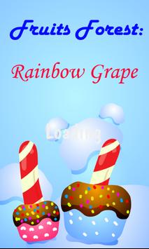 Fruits Forest : Rainbow Grape poster