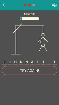 Hangman - No ads apk screenshot