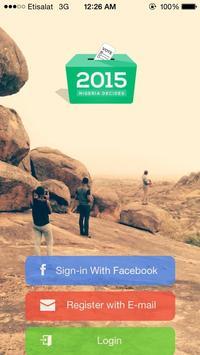 2015 Polling App screenshot 1