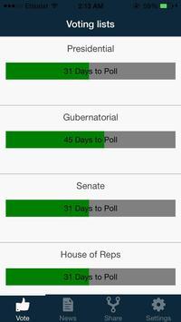 2015 Polling App screenshot 2