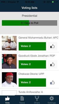 2015 Polling App screenshot 3