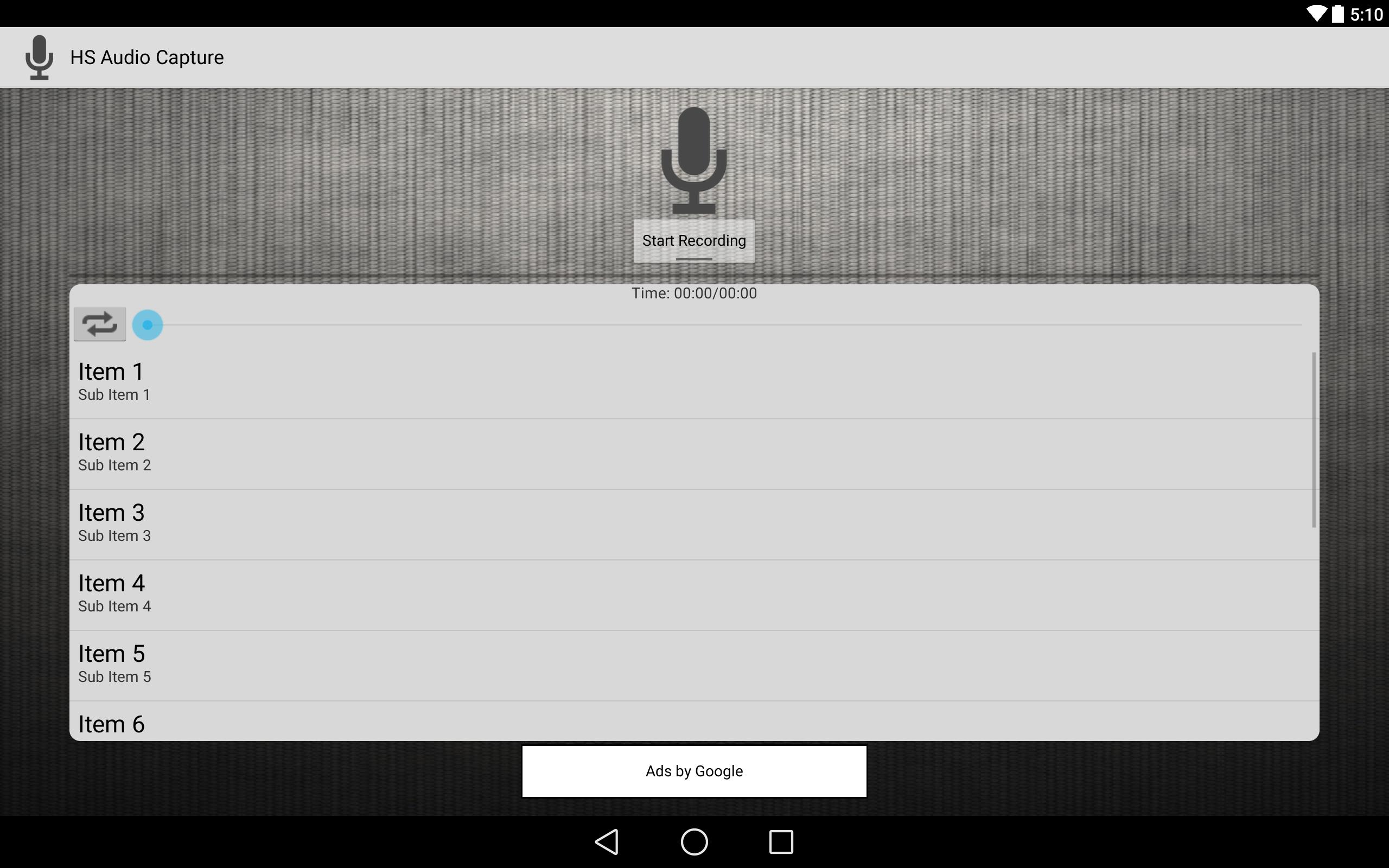 HS Audio Capture for Android - APK Download