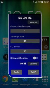 Siu Lim Tao Tracker apk screenshot