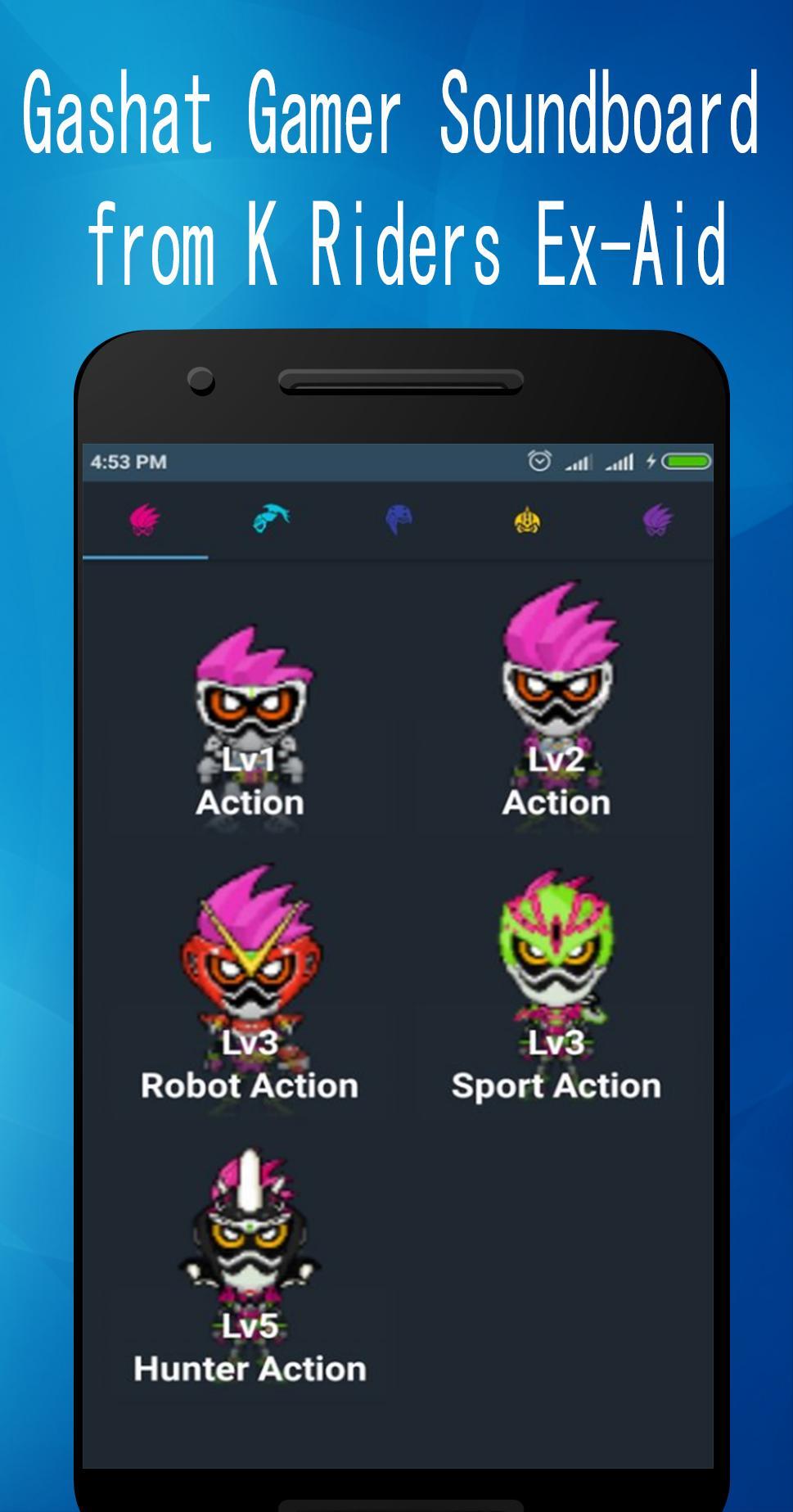 Gashat Gamer Soundboard for Android - APK Download