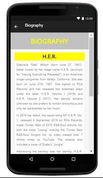 H.E.R. - Music And Lyrics screenshot 4