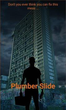 Plumber slide poster