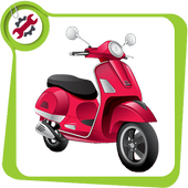 Repair scooters icon