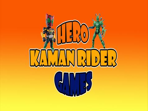 Hero Kaman Rider Battle Games poster