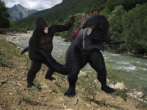 Kong Monster poster