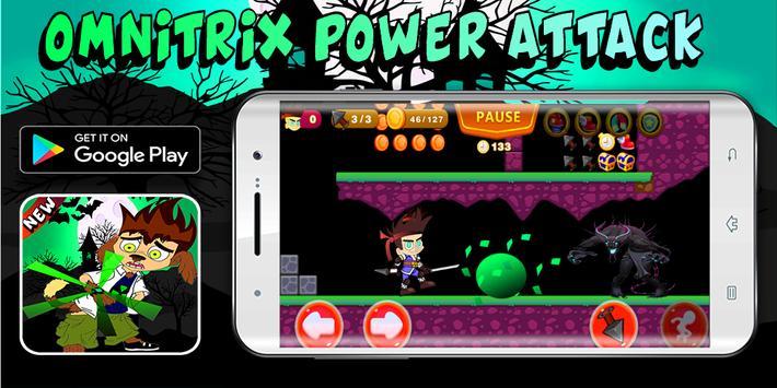 Super Ben Hero Last Alien Transformation screenshot 2