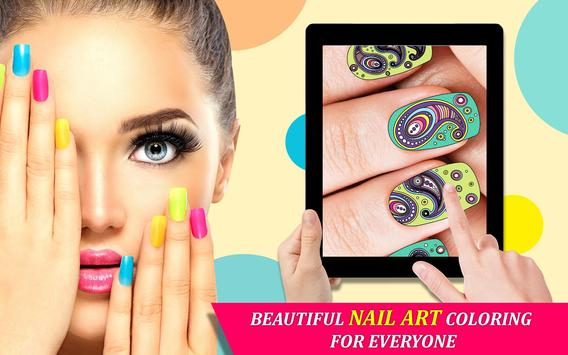 Nail Art Color By Number Nail Salon Number Color For Android Apk
