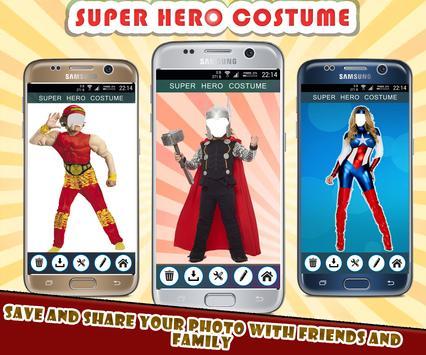 Superhero Photo Suit screenshot 2