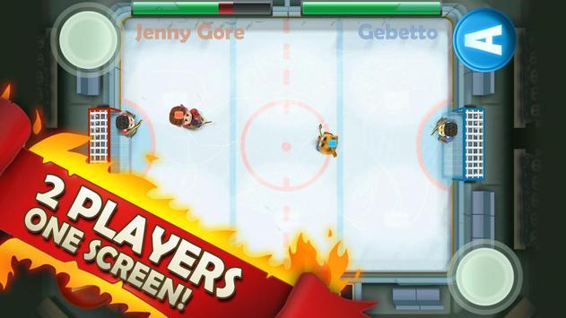 Ice Rage: Hockey Multiplayer Free تصوير الشاشة 13
