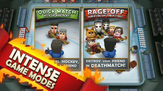 Ice Rage: Hockey Multiplayer Free تصوير الشاشة 14