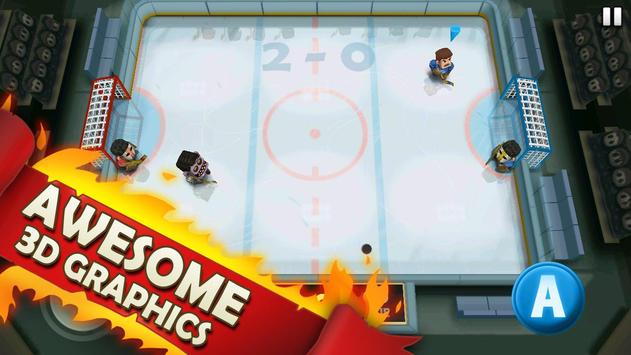 Ice Rage: Hockey Multiplayer Free تصوير الشاشة 7