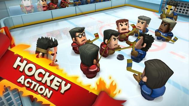 Ice Rage: Hockey Multiplayer Free تصوير الشاشة 5