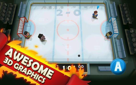 Ice Rage: Hockey Multiplayer Free apk screenshot