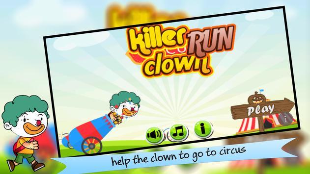 Killer Clown Run poster