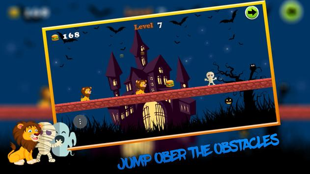 Pirate's Halloween Island Run apk screenshot