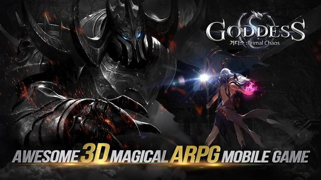 Goddess: Primal Chaos - Free 3D Action MMORPG Game poster