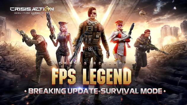 Crisis Action: 2018 NO.1 FPS ポスター