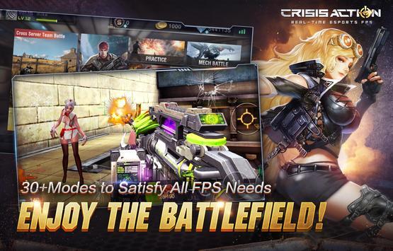 Crisis Action: 2018 NO.1 FPS apk imagem de tela