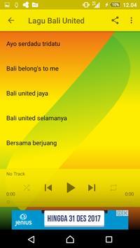 Lagu Madura United Offline screenshot 3
