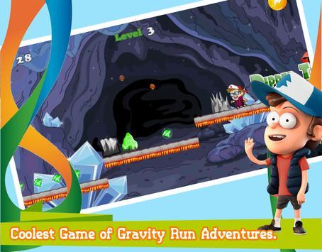 Gravity Run Adventure Falls apk screenshot