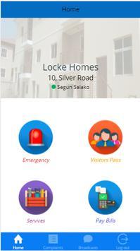 Locke Homes poster