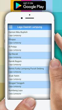 Lagu Daerah Lampung Lengkap screenshot 1