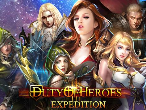 Duty of Heroes -  Expedition poster