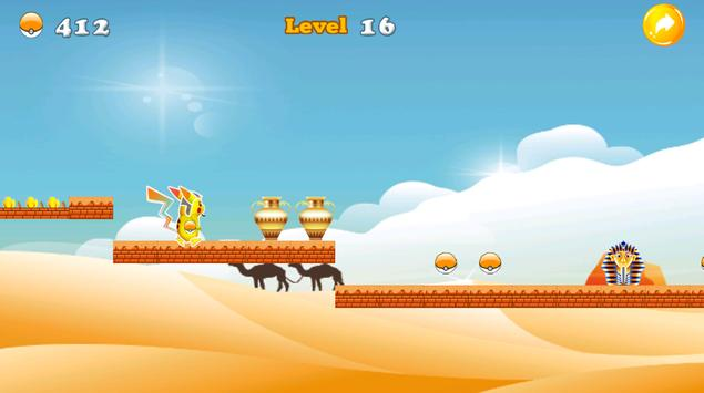 Super Pikashu Go Run Jump apk screenshot