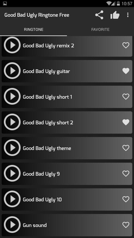 The good the bad and the ugly ringtone and alert youtube.