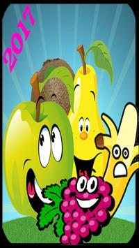 vegetable crush fruite 2017 poster