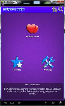 Mutiara Kata Cinta apk screenshot