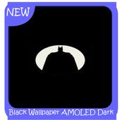 Black Wallpaper AMOLED Dark Background Darkify icon
