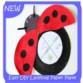 Easy DIY Ladybug Paper Plate icon