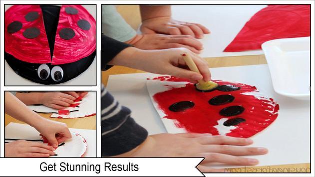 Easy DIY Ladybug Paper Plate screenshot 1