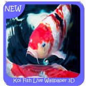 Koi Fish Wallpaper 3D icon
