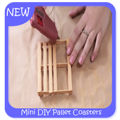 Mini DIY Pallet Coasters icon