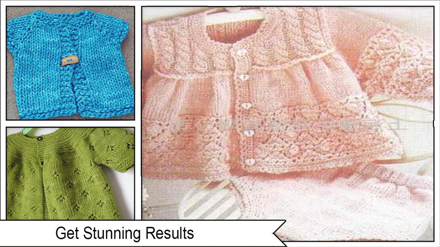 Patrones suéter de punto bastante bebé Descarga APK - Gratis Estilo ...