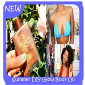 Summer DIY Glow Body Oil icon