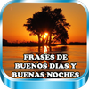Frases de Buenos Dias Amor y buenas noches tardes icon