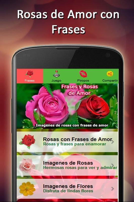 Rosas De Amor Con Frases Fondo Descarga Apk Gratis Estilo De Vida
