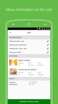 Herdy Fresh; Groceries delivered daily in Nairobi screenshot 4