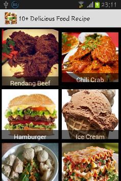 10+ Delicious Food Recipe poster