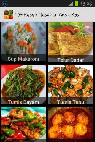10 Resep Masakan Anak Kos For Android Apk Download