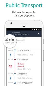 HERE WeGo - GPS, Metro & Bus captura de pantalla de la apk