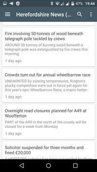Hereford free news screenshot 3