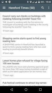 Hereford free news screenshot 2